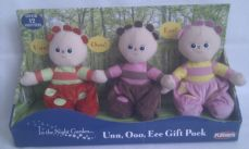 Adorable My 1st Set of 'Tombliboos' In the Night Garden Plush Toys (Boxed)